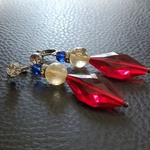 VTG clip on earrings